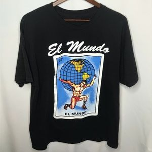 Tops - Mexican Loteria El Munro Card Graphic Tee